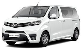 Rent Toyota Proace, 2018
