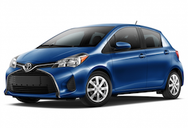 Rent Toyota Yaris, 2017