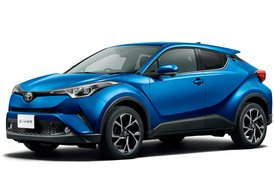 Rent Toyota C-HR Hybrid, 2019