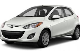 Rent Mazda 2, 2013