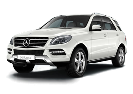 Rent Mercedes-Benz ML 300, 2009