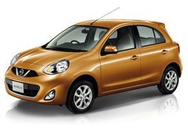 Location Nissan Micra, 2012