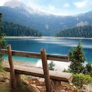 Поездка к Черному озеру